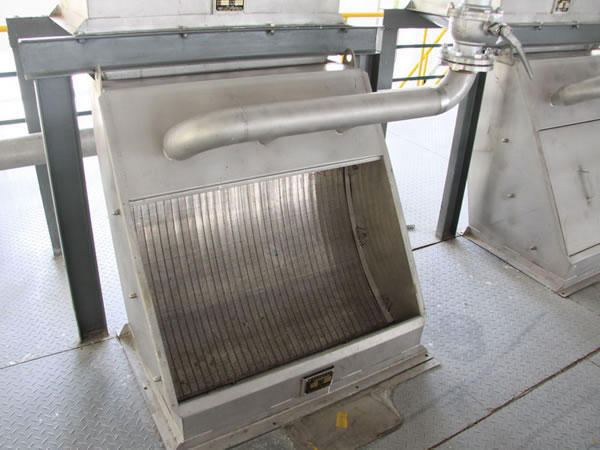 Sieve Bend Screen (Gravity Screener)