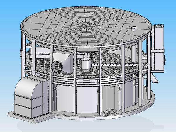 Disc Shape Fermentation Equipment